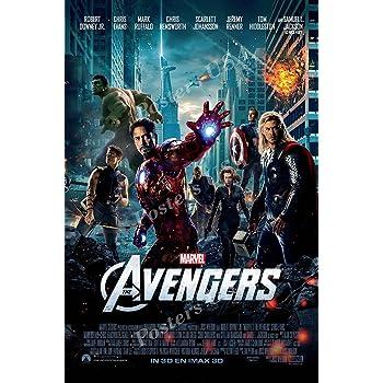 MCP968 Marvel Avengers Endgame Movie Poster Glossy Finish Posters USA