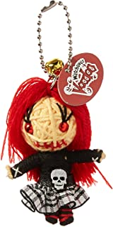 Watchover Voodoo Goth Girl Toy Keychain/Backpack, Multicolor, X-Large/One Size