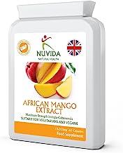 Pure African Mango Capsules 60 High Strength 18 000mg African Mango Extract Capsules High in Dietary Fibre Vegan and Vegetarian Friendly Estimated Price : £ 9,95