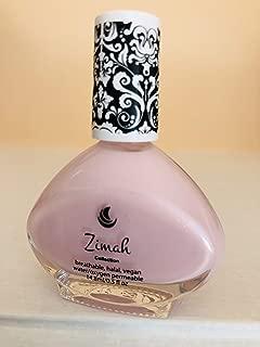 Zimah Nail Polish, Breathable, Vegan Nail Polish, Cruelty-Free, Toxin Free, Halal Nail Polish, Fast-Drying Nail Polish, Made in USA, Apple Blossom