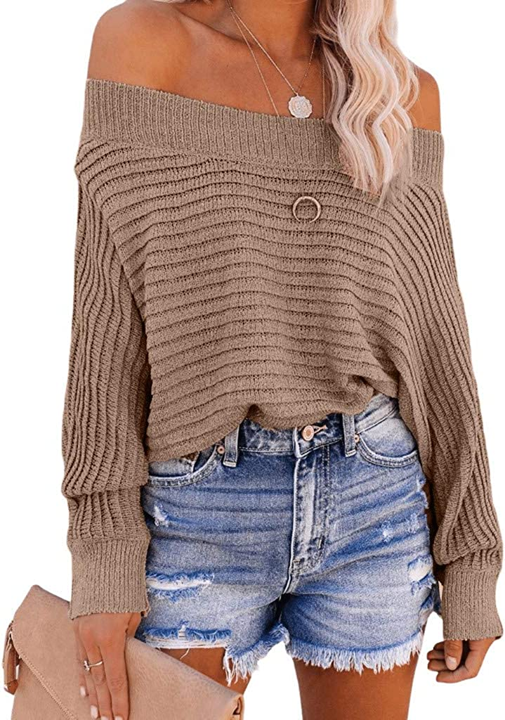 Women's Pullover Sweaters Casual Trendy Solid Color Autumn And Winter Long Sleeves Sweatshirts Blouse Tops