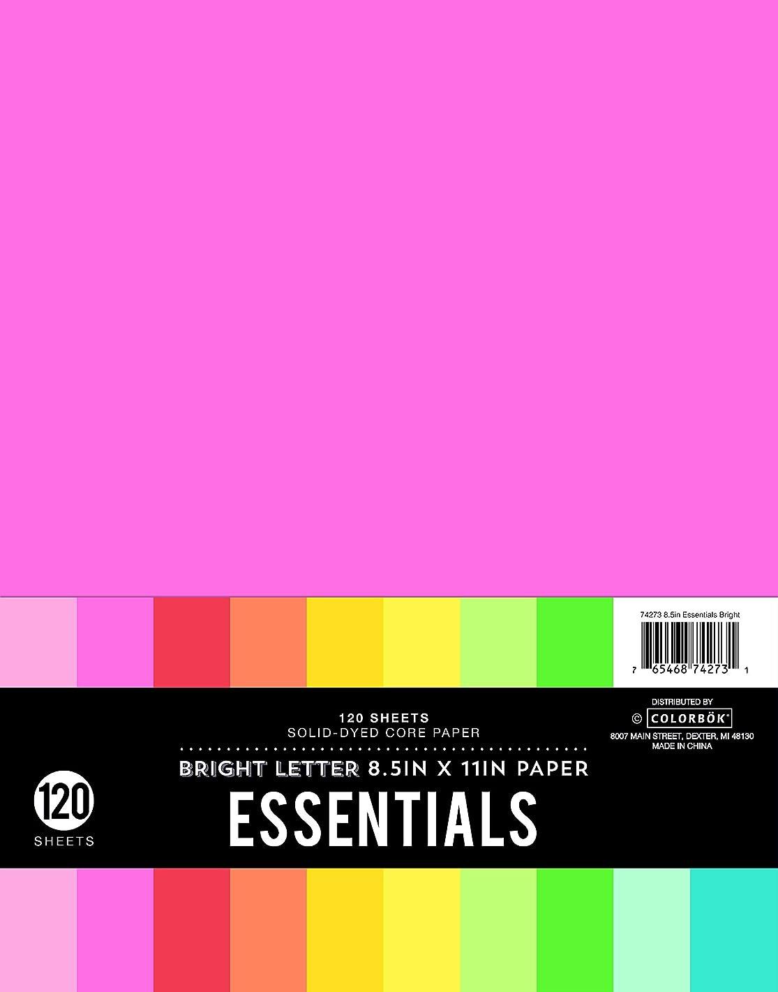 Colorbok 74273 8.5 Paper Essentials Bright