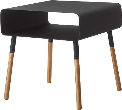 Yamazaki Plain Table d'appoint, Acier, Noir, Taille Unique
