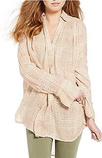 Women's Fearless Love Sequin Long-Sleeve Top