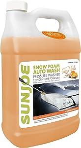 Sun Joe SPX-FCS1G-CRM Premium Snow Foam Orange-Vanilla Scent Car Wash Soap & Cleaner
