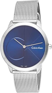 Calvin Klein Men's Quartz Watch, Analog Display and Stainless Steel Strap K3M2112N