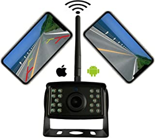 $99 » Wireless Backup Camera, Ultra Strong Signal Smooth Video Image HD 1080P Clear Picture Infrared Night Vision Support iPhone...