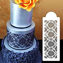 Baking Accessories, Cake Molds for Baking, YESZ Flower Lace Cake Stencil Cookie Cutter Embossing Sugarcraft Fondant Border Mold