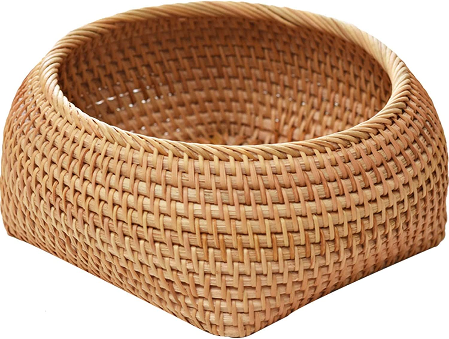 LIU Handmade Rattan Popularity Bread Candy Basket Fo Store to Used Kitchen Free shipping / New