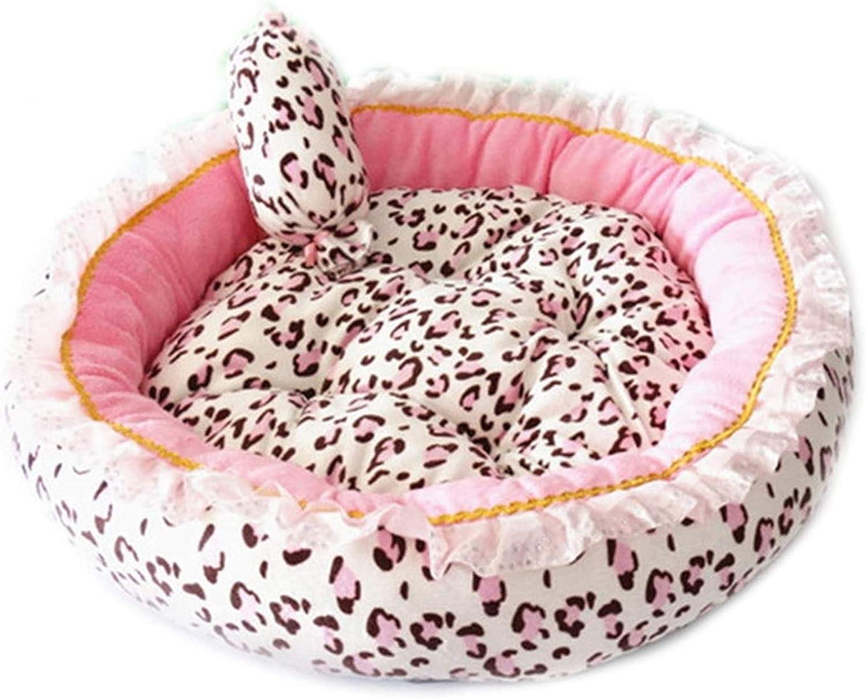 Financial sales sale Getrichar Pet Bed Luxury Soft Cash special price Dog Sle House Nest Kennel Cat Pink