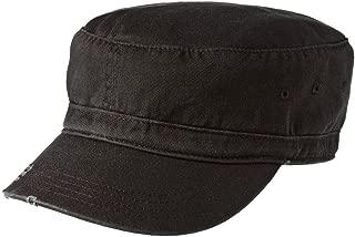 Men's Distressed Military Hat