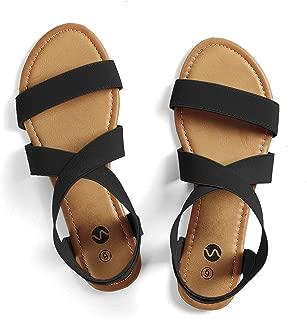 Flat Elastic Sandals for Women