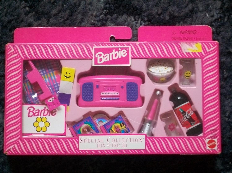 con 60% de descuento Barbie Special Special Special Collection Teen Scene Set Accessories  comprar marca