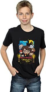 HARRY POTTER niños Philosopher's Stone Junior Camiseta 9-11 Years Negro