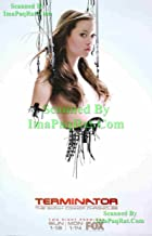 Terminator: Cameron Sexy Summer Glau The Sarah Connor Chronicles: FOX TV Series Premier: Great Original Photo Print Ad #2