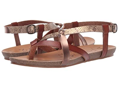 Blowfish Granola-B (Scotch/Amber/Desert Rose Mirage Snake) Women