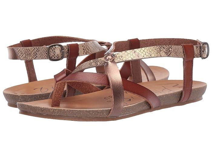 Blowfish  Granola-B (Scotch/Amber/Desert Rose Mirage Snake) Womens Sandals