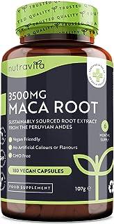 Maca Negra Andina Capsulas 3500 mg - 180 Cápsulas Veganas con Maca negra