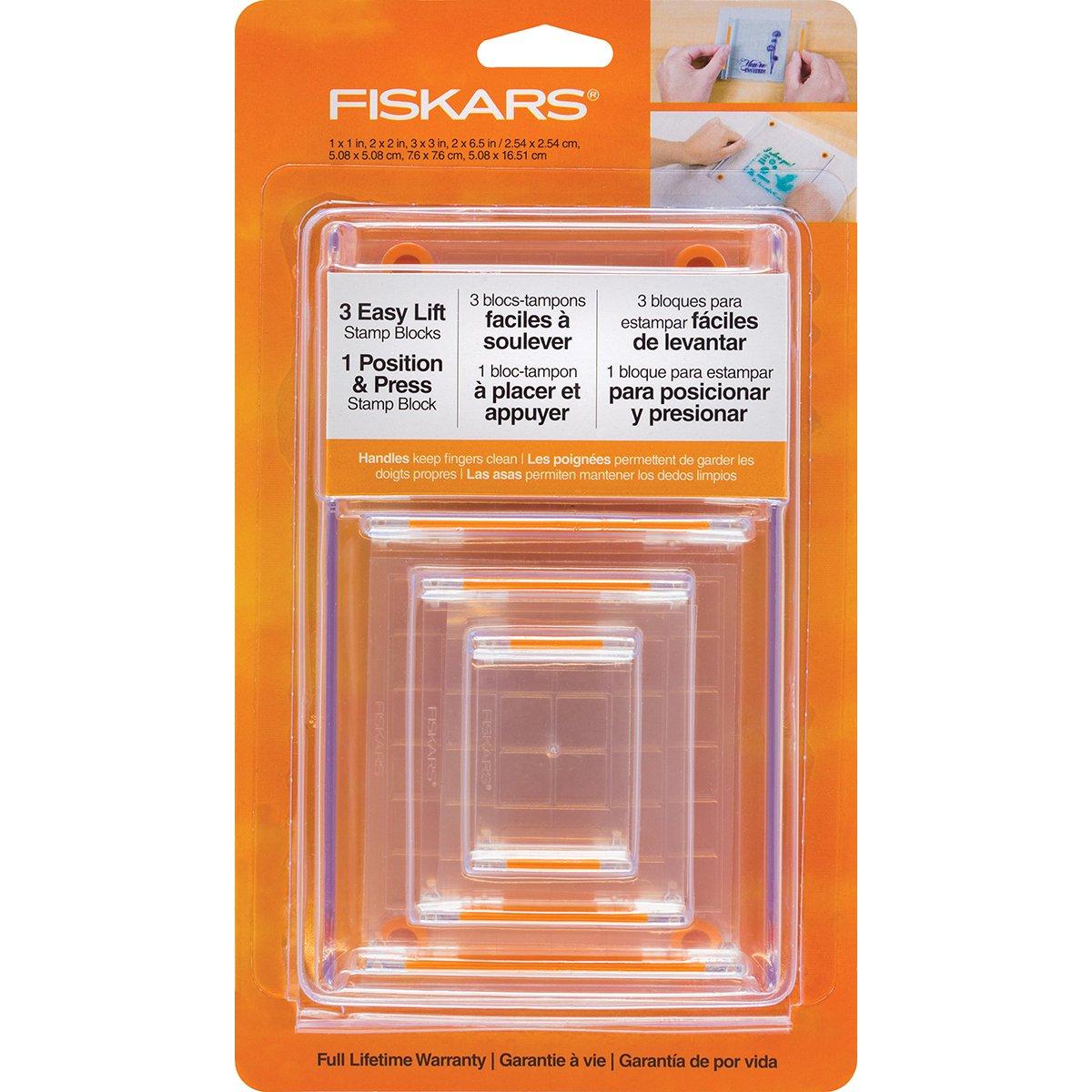 Fiskars 106150 1001 Clear Stamp Block