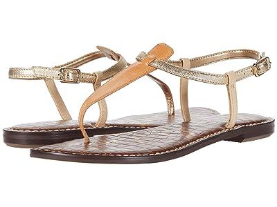 Sam Edelman Gigi (Natural Sand/Molten Gold/Summer Sand Heavy Vachetta Leather/Gild) Women