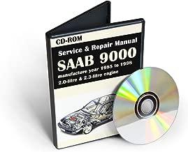 SAAB 9000 1985-1998 Service and Repair Manual (CD-ROM)