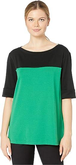 Polo Black/Hedge Green