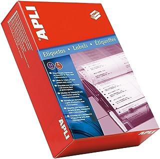 opaco 117/mm Pezzi contenidas: 1 /Borsa con 10/fogli di etichette per CD APLI 10039/