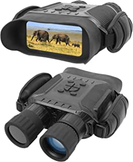 """Bestguarder NV-900 4.5X40mm Digital Night Vision Binocular with Time Lapse Function Takes HD Image & 720p Video with 4"""" LC..."""