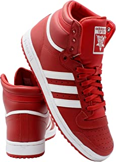 adidas Mens Top Ten Sneaker - Red White