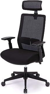 イトーキ オフィスチェア サリダ YL7 YL7-BK-AEL エクストラハイバック ブラック