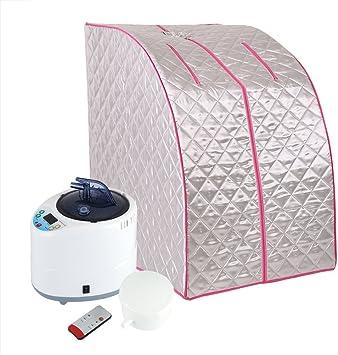 Home Spa Ganzk/örper-Entspannungs Faltbares Dampf-Saunazelt und Gesichts-Spa f/ür den Innenbereich summerr Tragbare Mobile Dampfsauna