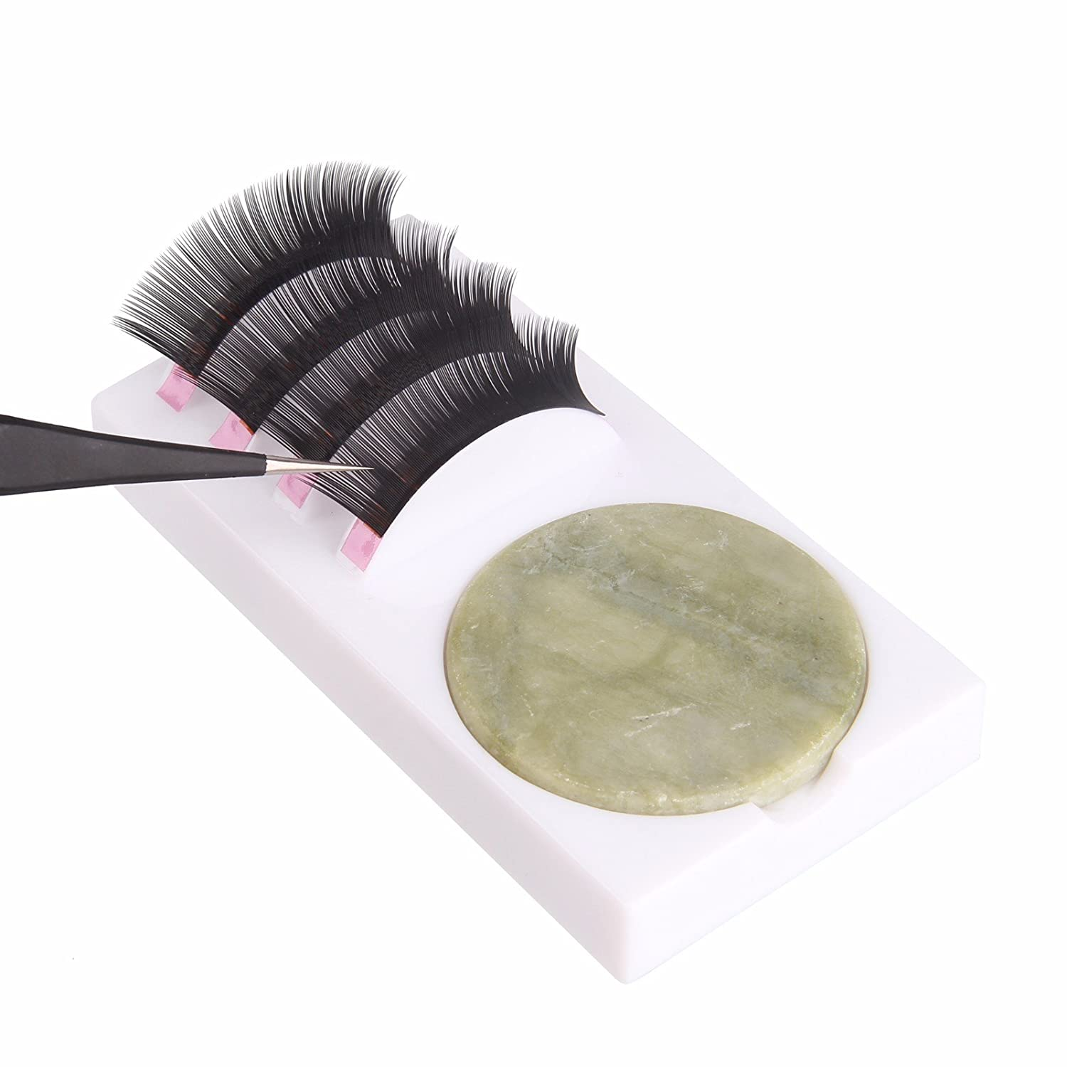 Beauty7 U Curved New color 2-in-1 Eyelash Base Extension Popular brand Stand Holder With