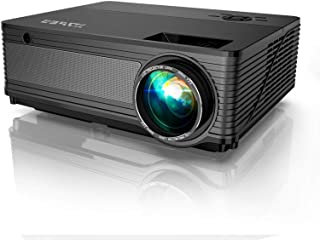 YABER Y21 Native 1920 x 1080P Projector 6800 Lux Upgrad Full HD Video Projector, ±50° 4D Keystone Correction Support 4k&Zo...