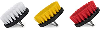 Drill Brush Set 3 in 3 Piece Power Scrubber Brushes for Car Cleaning and Automotive Detailing Wilson Auto Detailing