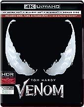 Venom (4K UHD + Blu-ray 3D + Blu-ray + Bonus Disc) ASIAN IMPORT IN HINDI / TAMIL / TELUGU