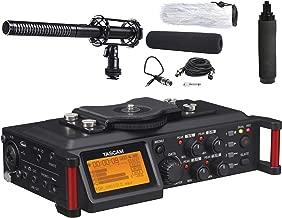 tascam dr 70d 4 channel dslr audio recorder