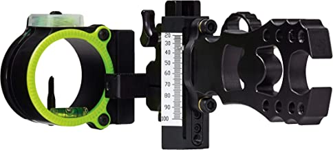 Black Gold Ascent Verdict Single Pin (.019) Right Hand Bow Sight, Black - AV1
