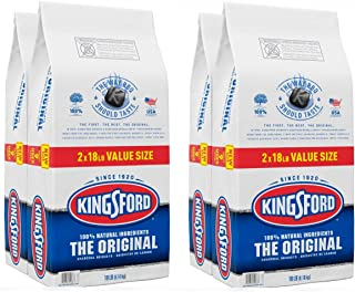 kingsford キングスフォード BBQ(バーベキュー)用炭 チャコールブリケット 約8.16kg入りx4袋セット