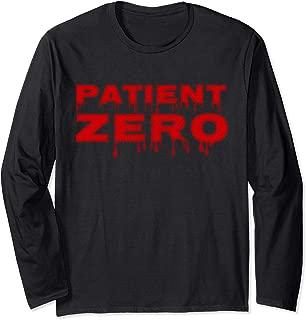 Zombie Apocalypse Tshirt Patient Zero Halloween Blood
