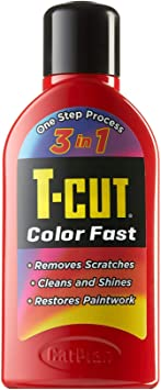 T-Cut Light Red Scratch Remover Color Fast Paintwork Restorer Car Polish - 500ml * 13 Colours Available: image