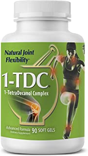 1TDC – Joint & Muscle Health – 90 Soft Gels – Formulated to Provide Complete Body Relief – Enhanced with 1-TetraDecanol Complex to Promote Natural Joint Flexibility – Safe & Effective