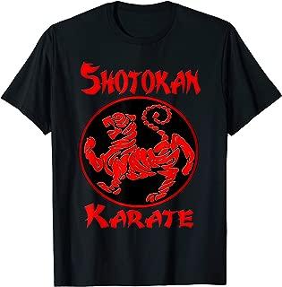 Shotokan Tiger Karate T Shirt