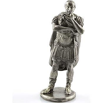 Amazon   ガイウスジュリアスシーザー紀元前1世紀。金属の彫刻 ...