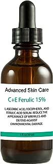 15% Vitamin C and Vitamin E serum with Ferulic Acid, Skin Brightening, Collagen boosting, fights hyperpigmentation, boosts collagen, fades dark spots (2 oz)