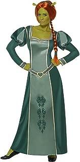 Smiffy's Women's Princes Fiona Shrek Fancy Dres Costume Plu Wig and Ogre Ears