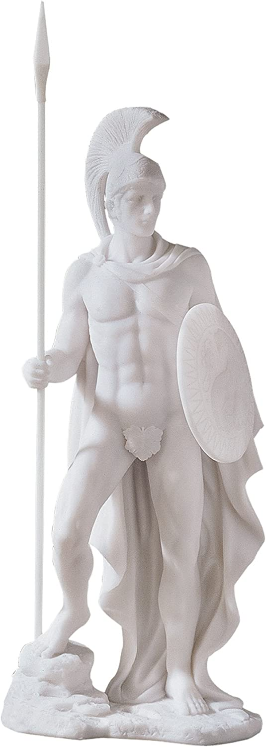 Ares Classical Greek God Statue Design Toscano 12.5 in