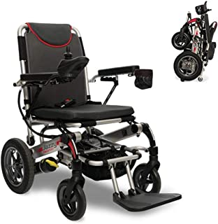 Wheelchairs Electric Wheelchair, Portable Folding Mobility Power Chair, with remote control(Open/Fold in 1 second now) & P...