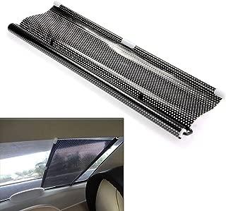 Yosoo Universal Folding Car Retractable Side Window Sunshades/Sunblinds Curtain Roller Blind Sunshade Sun Shades Shield Visor