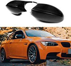 Carbon Fiber M3 Look Mirror Cap Cover For BMW 3 Series E90 E91 2005-2007 E92 E93 Pre-LCL 2006-2009