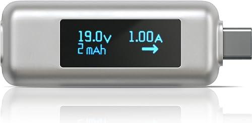 Satechi USB-C Power Meter Tester Multimeter - Compatible with 2020/2019 MacBook Pro, 2020/2018 MacBook Air, 2020/2018...